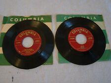 Lot of 2 45s Columbia Records DORIS DAY - Ask Me, I Speak to the Stars 31724