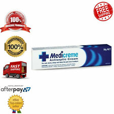 Medicreme Antiseptic Cream for Cuts Abrasions Minor Sunburns and Stings 50g
