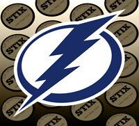Tampa Bay Lightning Logo NHL Color Die Cut Vinyl Sticker Car Window Bumper Decal