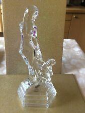 More details for rcr royal crystal rock mother & child glass figurine