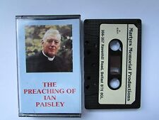 THE PREACHING OF IAN PAISLEY CASSETTE, TESTED.