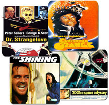 Stanley Kubrick Movie Poster Coasters Set Of 4. High Quality Cork. Space Odyssey
