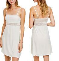 White Cool Comfort M/&S Full Slip Petticoat Chemise Size 8-22 Mini Midi Maxi