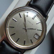 Vintage Man's Wrist Watch,  27 Jewel  GUBELIN,  AUTOMATIC,  Calendar,  Running