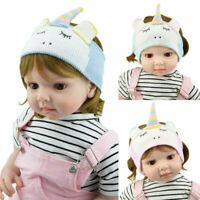 Unicorn Kids Baby Knitting Hair Band Turban Earflap Ear Warmer Accessories