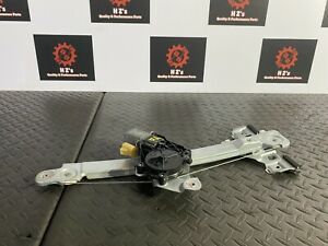 CADILLAC SRX FWD 2010-2016 OEM REAR LEFT DRIVER SIDE DOOR WINDOW REGULATOR