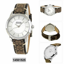 Coach Analog Casual Watch Classic Signature Brown Women's 14501525
