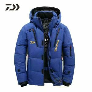 Multi-Pocket Winter Thicken Thermal Coat For Men's Outdoor Fishing Jacket Cloth