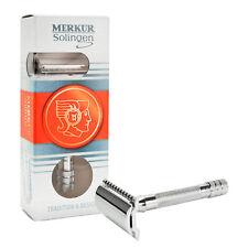 """3"""" Merkur Solingen Barber Chrome Double Edge Head Comb Shaving Safety Razor 33C"""