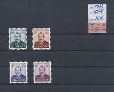 LM80878 Luxembourg 1952 caritas J.-B. Fresez fine lot MNH cv 36 EUR