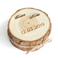 Personalized Wedding Ring Box Rustic Wedding Gift Ring Box Wood Ring Bearer Box