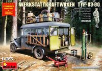 Miniart 35359 - 1/35 - WERKSTATTKRAFTWAGEN TYP-03-30. Mobile auto repair shop UK