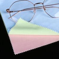 Microfiber Lens/Eye glasses/GPS/Computer Cleaning Wipe Cloths Cleaner 5pcs/10pcs