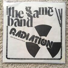 "1978 SAME BAND ""RADIATION"" / ""DESERT"" 45 7"" PS private maine proto art punk KBD"