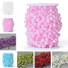 60M Wedding Pearl Beads Garland Decoration Diy Crafts Centerpiece Crafting
