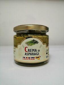 Crema di asparagi vaso da 190gr Prodotto in Sicilia