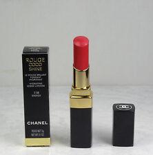 Chanel Rouge Coco Shine Hydrating Sheer Lipshine 118 Energy 0.1oz/3g