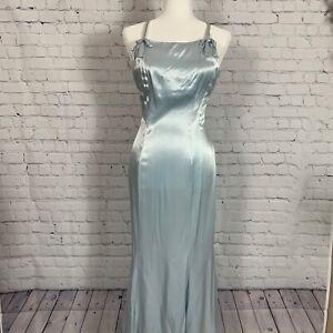 Beautiful 1990s Zum Zum Princess Cocktail Formal Prom Dress