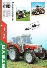 Steyr Traktoren RS2, orig. Prospekt 1989