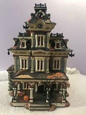 Department 56 Grimsly manor spooky halloween house Po3391