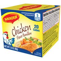 Maggi Chicken Flavor Bouillon Cubes, 2.82 oz