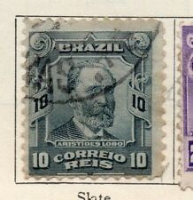 Brazil 1906 Early Issue Fine Used 10r. 113262