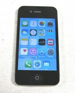 iPhone A1387 8GB Black AT&T w/ Charging Cable & Car Mount Holder