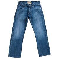 Vintage Levi 'S 514 Bleu Slim Straight Fit Jean Taille W33