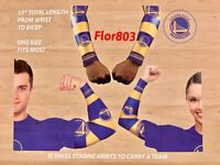 Golden State Warriors NBA Strong Arm Fan Sleeve Set Of Two