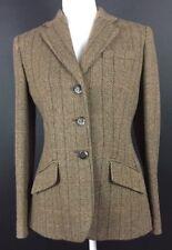 Women's Ralph Lauren Wool Blazer Jacket Horse Buttons Size 6 Equestrian