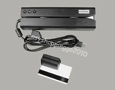 MSR606 HiCo Magnetic Swipe Card Reader Writer & Mini300 Portable Reader Bundle