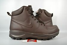 NEW Nike Manoa Leather BAROQUE BROWN 454350-208 sz 11 WINTER BOOTS SNOW