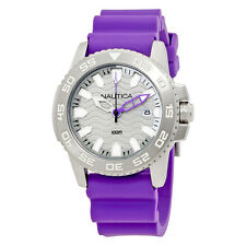 Nautica NSR 20 Sports Silver Dial Ladies Watch NAI12534G