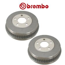 NEW Pair Set of 2  Brake Drums 225mm 5 Lugs Brembo for Mercury Sable Ford Taurus