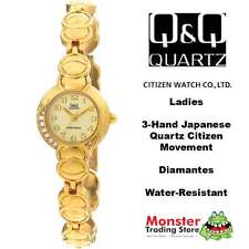 AUSSIE SELLER LADIES BRACELET WATCH CITIZEN MADE GOLD GK93-800 P$99 WARRANTY