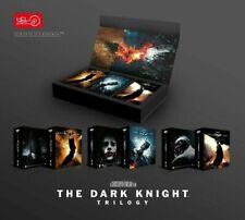 DARK KNIGHT TRILOGY HDZeta Steelbook 3in1 4K UHD Blu-ray BOX set BATMAN