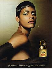 PUBLICITE ADVERTISING 045  2003  JEAN PAUL GAULTIER  parfum femme  FRAGILE