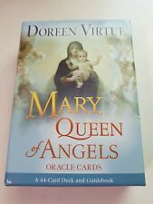 Mary Queen Of Angles 44 Oracle Cards Deck Guidebook Doreen Virtue VG