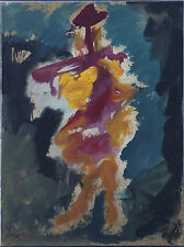 Cuban Artist Painter, Rafael Lorzano Original/ Oil on Board/ Framed