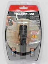 Pelican PM6 3330 LED Flashlight Raven Black 3330-010-118 Tactical Lithium New