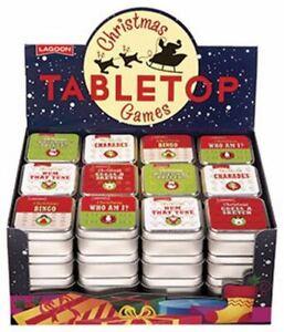 Lagoon - Noël Thème Table Haut Jeux pour Enfants Bingo
