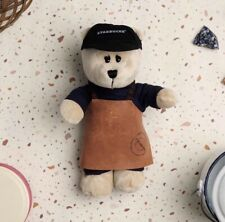 Starbucks SINGAPORE R Reserve Bearista Bear in Leather Apron Outfit -No Card