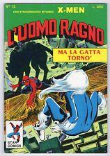 fumetto L'UOMO RAGNO STAR COMICS MARVEL numero 12