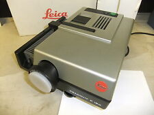 Slide projector LEICA PRADOVIT P 150 2.8 / 80mm Leica LENS TRAY CD info .  MG