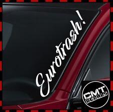 2x horreur main voiture pare-chocs jdm dub vag euro drift vinyl decal stickers fenêtre