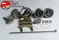 68-79 Chevy II/Nova, 68-70 Impala 68 Door Glove Trunk Lock & Key Set