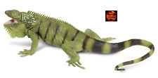 LARGE 1:4 SCALE IGUANA REPTILE TOY MODEL by SAFARI LTD 267729 *NEW WITH TAG*