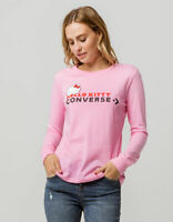 Converse X Hello Kitty Collection Premium Long Sleeve Shirt Pink Size Medium