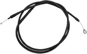 """LA Choppers Stainless Steel Braided Clutch Cable 15""""-17"""" Bars Midnight 0652-2327"""