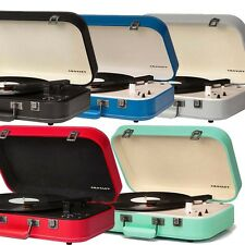 Crosley COUPE 3 Speed Belt Driven Bluetooth Record Player Turntable - 5 COLORS